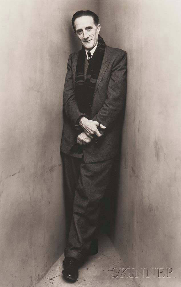 Irving Penn (American, 1917-2009) Marcel Duchamp, New York, 1960, Printed 1979 (Lot 181, Estimate: $15,000-25,000)