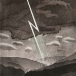 David Hockney (British, b. 1937) Lightning, from The Weather Series, 1973   (Lot 78, Estimate: $7,000-9,000)