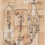 Paul Klee (German, 1879-1940) Hoffmaneske Szene, alternatively titled   Hoffmaneske Märchenscene, 1921 (Lot 85, Estimate: $25,000-35,000)