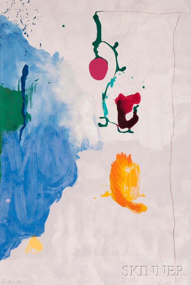 Helen Frankenthaler (American, 1928-2011) Eve, 1995 (Lot 65, Estimate:   $5,000-7,000)