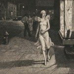 Martin Lewis (American, 1881-1962) Night in New York, 1932 (Lot 29,   Estimate:$1,000-1,500)