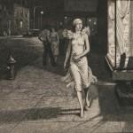 Martin Lewis (American, 1881-1962) Night in New York, 1932 (Lot 29,   Estimate:$1,000-1,500)