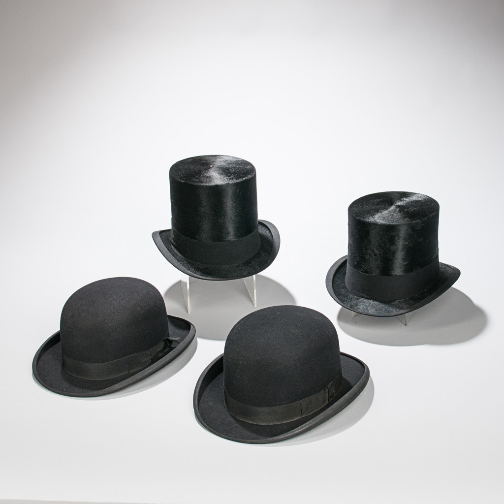 The Sophisticate – Four Men's Dress Hats (Lot 1572, Give someone the gift of sophistication and class with these four classic wardrobe staples.