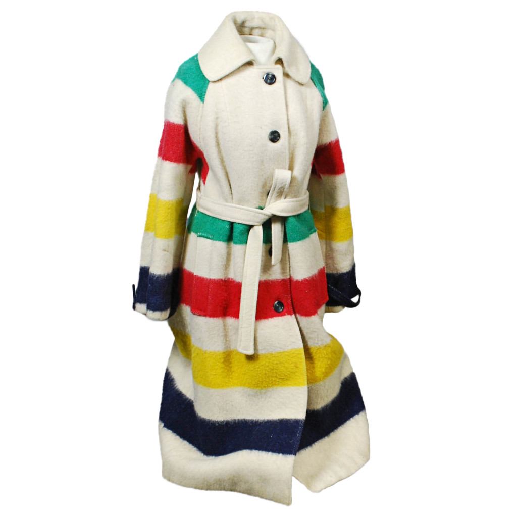 The Sartorialist - Vintage Hudson Bay Company Wool Coat, Lot 1609 - For the fashion forward in your life that can blend vintage and modern, this Hudson Bay Company wool coat is the perfect compliment for a winter walk.