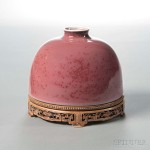 Peachbloom Water Coupe, China, 18th century (Lot 282, Estimate: $10,000-20,000)