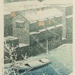 Kawase Hasui (1883-1957), Ochanomizu, Japan, 1926 (Lot 458, Estimate: $2,000-3,000)
