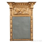 Late Federal Carved and Gilt-gesso Tabernacle Mirror (Lot 300, Estimate $200-400)