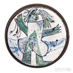 Pablo Picasso (Spanish, 1881-1973) Dishevelled Woman, 1963 (Lot 109, Estimate $10,000-15,000)