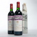 Chateau Mouton Rothschild 1988 (Estimate: $1,600-2,400)