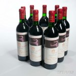 Chateau Mouton Rothschild 1990 (Estimate: $1,800-2,700)