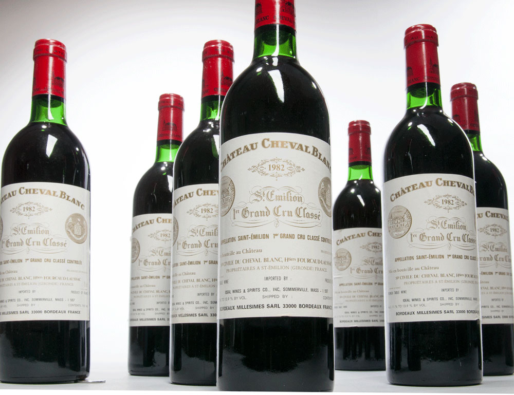 Chateau Cheval Blanc 1982 (Estimate: $6,000-8,000)