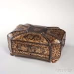 Chinese Laquer Sewing Box (Estimate: $400-600)