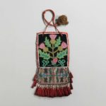 Kaska Beaded Cloth Panel Bag, c. 1870 (Lot 206, Estimate: $10,000-15,000)
