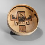 Sityaki Polychrome Pottery Bowl, c. 1400 A.D. (Lot 338, Estimate: $8,000-12,000)