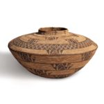 Yokuts Polychrome Basketry Olla, c. late 19th/early 20th century (Lot 398, Estimate: $6,000-8,000)