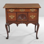 Carved Mahogany Dressing Table, Massachusetts, mid-18th century (Lot 36, Estimate: $2,000-3,000)
