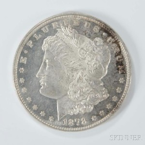 1878 7/8 Tailfeather Morgan Dollar (Lot 1094, Estimate $50-100)