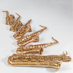 1960-1961 Selmer Mark VI Saxophones (Lots 1-6)