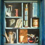 Jack Jones (American, 1940-2011) Trompe l'Oeil. Signed 'Jack Jomes' ($500-700)