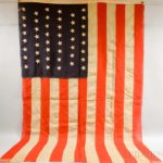 Forty-six Star American Flag (Lot 1019, Estimate: $300-500)