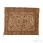 Silk Hereke Carpet, Turkey, c. 1920 (Lot 69, Estimate: $8,000-10,000)