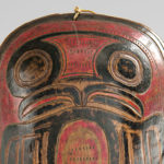 [Detail] Tsimshian Carved and Painted Wood Shaman's Rattle, c. mid-19th century (Estimate: $15,000-20,000)