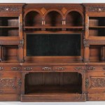 Herter Brothers Renaissance Revival Walnut Sideboard (Lot 515, Estimate: $3,000-5,000)