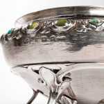 [Detail] Liberty & Co. 'Cymric' Sterling Silver Bowl on Stand (Lot 24, Estimate: $8,000-12,000)