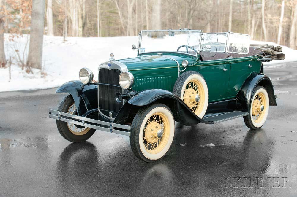 1930 Ford Phaeton (Lot 3, Estimate: $28,500-45,000)
