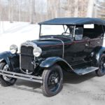 1930 Ford Model A Standard Phaeton (Lot 9, Estimate: $25,000-35,000)
