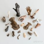 [Detail] Group of Hands and Eyes (Lot  1312, Estimate $200-300)