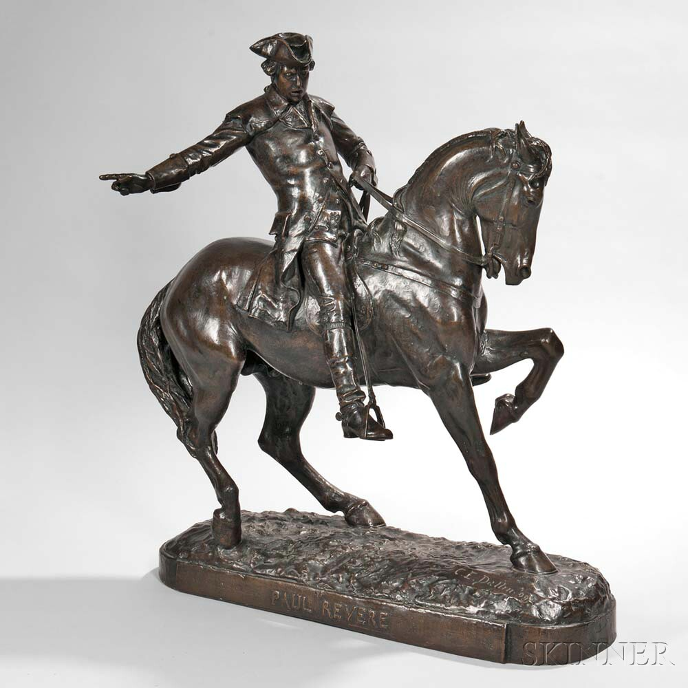 Cyrus Dallin (American, 1861-1944) Paul Revere (Lot 294, Estimate: $20,000-40,000)