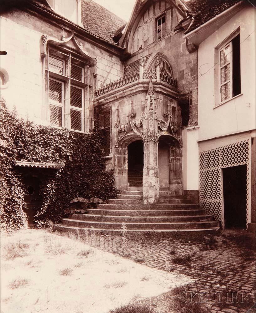 Eugène Atget (French, 1857-1927) Beauvais, rue de l