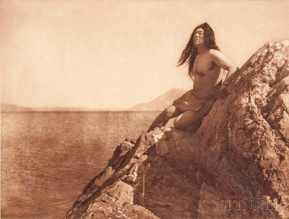 Edward Sheriff Curtis (American, 1868-1952) Nine Photogravures from The North American Indian, Volume 14, published 1924 (Lot 135, Estimate: $1,500-2,500)