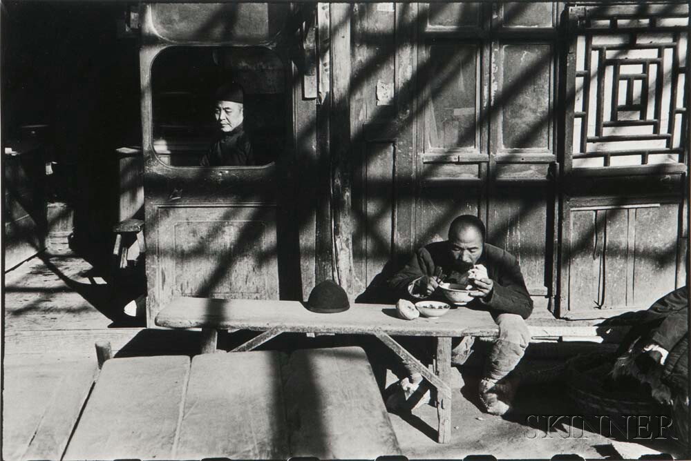 Henri Cartier-Bresson (French, 1908-2004) In the Last Days of the Kuomintang, Peking, 1949, printed 1980s (Lot 143, Estimate: $5,000-7,000)