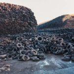 Edward Burtynsky (Canadian, b. 1955) Oxford Tire Pile #5, Westley, California, 1999, printed 2002 (Lot 166, Estimate: $7,000-9,000)