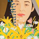 Alex Katz (American, b. 1927) Ada with Flowers, 1980 (Lot 89, Estimate: $6,000-8,000)