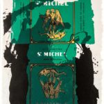 Robert Motherwell (American, 1915-1991) St. Michael III, 1979 (Lot 103, Estimate:  $3,000-5,000)