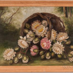 J.C. Spencer (American, 19th/20th Century) Still Life with Water Lilies (Lot 1365, Estimate $300-500)