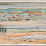 Charles Demetropoulos (American, 1912-1976) Low Tide, Provincetown/A Double View (Lot 1033, Estimate $400-600)