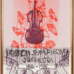Robert Rauschenberg (American, 1925–2008)  Boston Symphony Orchestra 1881-1981/100th Anniversary Poster (Lot 1264, Estimate $300-500)