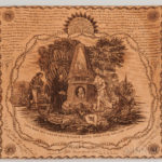 George Washington Memorial Printed Kerchief, probably England, c. 1800 (Lot 405, Estimate $6,000-8,000)
