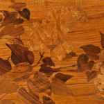 [DETAIL] Two-tier Emile Galle Marquetry Table, France, early 20th century (Lot 434, Estimate $1,500-2,500)