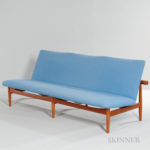 Finn Juhl (Danish, 1912-1989) Sofa (Lot 248, Estimate $3,000-5,000)
