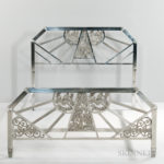 Art Deco Bed Frame (Lot 1568, Estimate $600-800)