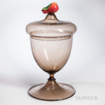 Monumental Murano Glass Covered Urn (Lot 1577, Estimate $800-1,200)