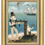 Ralph Cahoon (Massachusetts, 1910-1982)  Weighing In (Lot 303, Estimate $8,000-12,000)