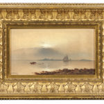 Charles Henry Gifford (Massachusetts, 1839-1904)  Sunset Over New Bedford Harbor (Lot 67, Estimate $8,000-12,000)