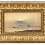 Charles Henry Gifford (Massachusetts, 1839-1904)  Sunset Over New Bedford Harbor (Lot 67, Estimate $8,000-12,000)