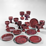 Nineteen Pieces of Brother Thomas Bezanson (1929-2007) Pottery (Lot 357, Estimate $1,000-1,500)